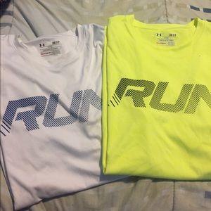 "Under Armour Other - 2 UA ""Run"" shirt sleeves"