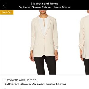 Elizabeth and James Relaxed Jamie Blazer size 8