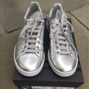 adidas Shoes - Silver Stan Smith adidas