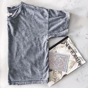 Madewell Cotton Crewneck  Cropped Tee