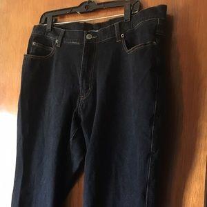 Women's Denim & Co Black Jeans 18W