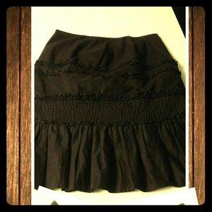 Dresses & Skirts - INC International Concepts brown ruffle skirt