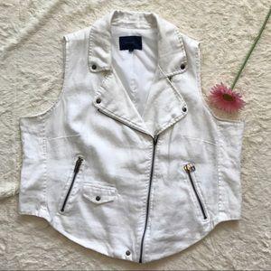 Eloquii Jackets & Blazers - Eloquii Linen Vest