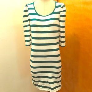 Body con cotton dress.