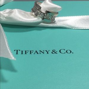 Tiffany & Co. Jewelry - Pre Loved Tiffany Alta's Open Diamond Ring.