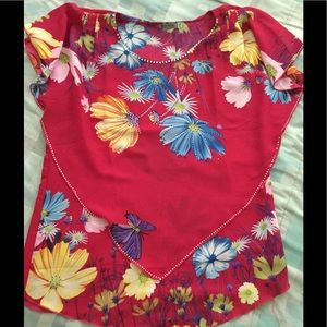 MOVING SALE! Floral top
