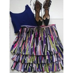 Larry Levine Dresses & Skirts - Nordstrom Fab ruffle skirt