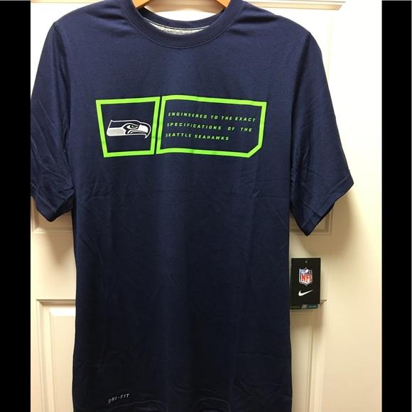 f88da6853 Nike Men s SS Seattle Seahawks Dri-Fit T-Shirt
