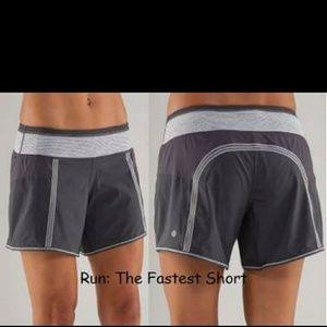 lululemon athletica Pants - Lululemon Run: The Fastest Shorts