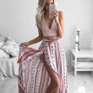 Dresses & Skirts - 🎉PM Editor Pick🎉 LF Tribal maxi skirt