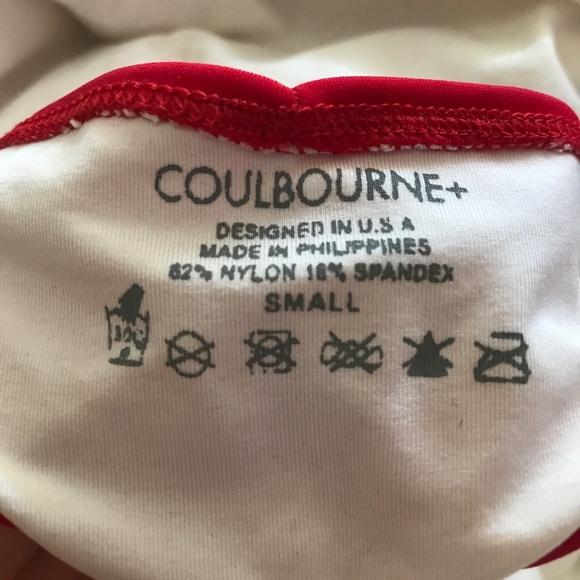 Coulbourne Swim - Rare Coulbourne Red Bikini bottoms