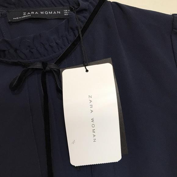Zara Victorian Blouse 34