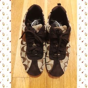 Coach Shoes - Coach Signature Sneakers