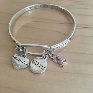 Brighton Jewelry - REDUCED Brighton power of pink bangle