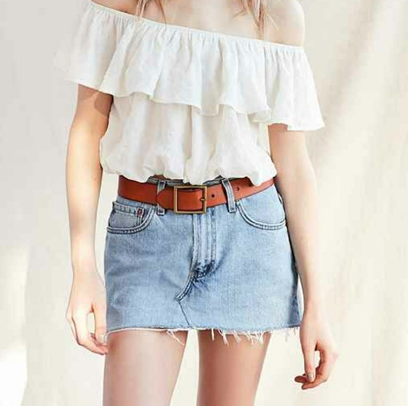 03207c7a04 levis Dresses & Skirts - Urban outfitters urban renewal Levi's denim skirt