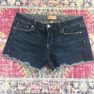 Paige cut off jean shorts size 29