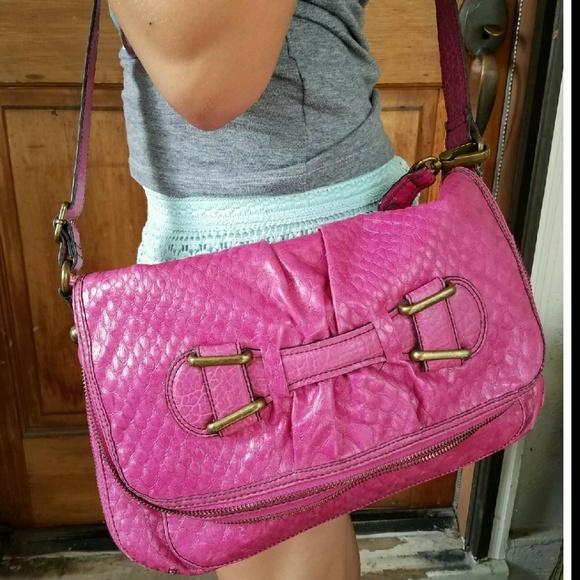 ef842cb43b Jessica Simpson LARGE crossbody handbag pink