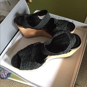 Adam Tucker Shoes - Women's wedge sandals!