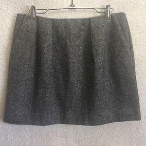 Brooklyn Industries Dresses & Skirts - Brooklyn Industries Gray Tweed Mini Skirt