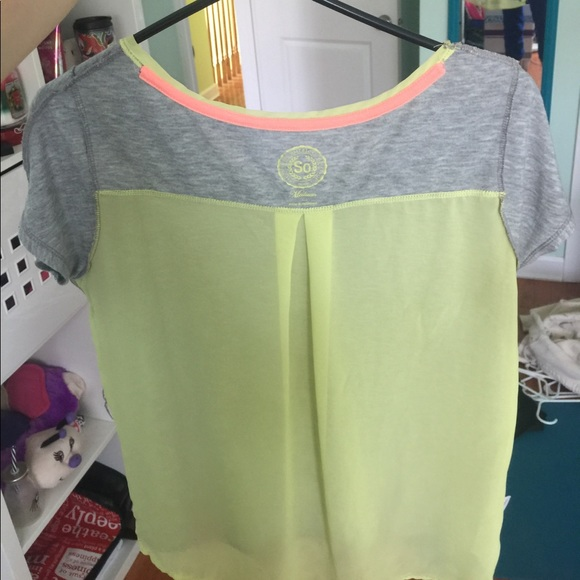 84 off so tops two t shirts with see through back from for Shirts with see through backs