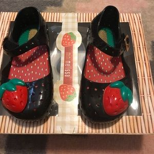 Mini Melissa Other - Mini Melissa strawberry shoes