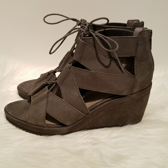 3120241bc9f6 Eileen Fisher Shoes - NEW Eileen Fisher  Dibs  Wedge Lace-up Sandals