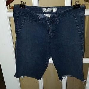17/21 Exclusive Denim Pants - Wmns 8 Denim Shorts