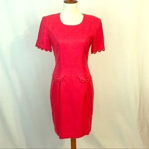 Donna Ricco Dresses & Skirts - EUC Donna Rico coral dress