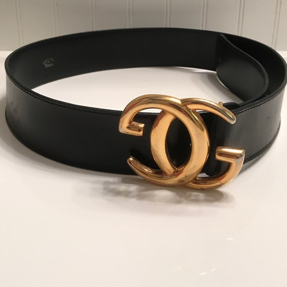 cc49cbe46 Gucci Accessories | Authentic Double G Logo Leather Belt 75 | Poshmark