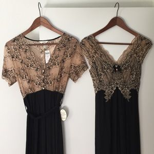 """Soma Other - Soma """"Cool Nights"""" fabric nightgown & robe NWT!"""