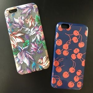 Bundle of two J. Crew IPhone 6/6s Phone Covers