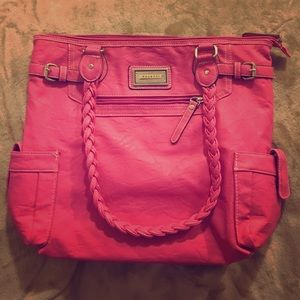 Rosetti Handbags - 🆕 Pink Rosetti Tri-Compartment Extra Large Tote