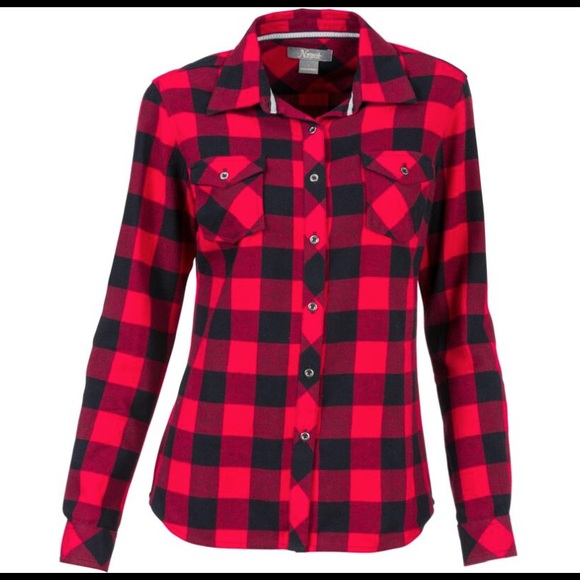 f54d2c2e03 Natural Reflections button up flannel shirt. M 59442a125c12f8bb7a01066e
