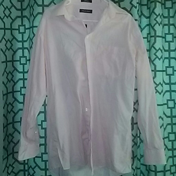 82 off murano other pink and white mens dress shirt