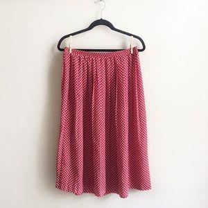 Dresses & Skirts - Vintage Red Skirt