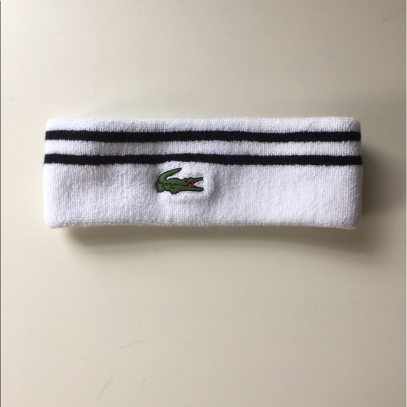 Lacoste Accessories - Lacoste tennis head band 4cf29102981