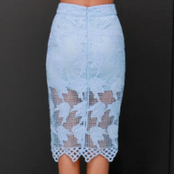 59 j o a dresses skirts j o a powder blue lace