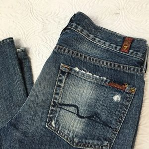 7 For All Mankind Denim - 7 For All Mankind In Havana Flare jeans