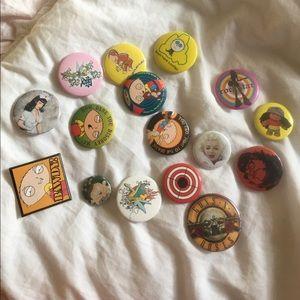 Accessories - 90s Vintage Pins