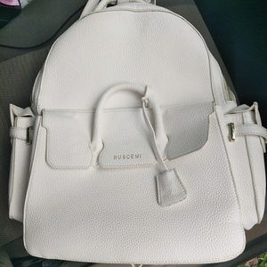 Buscemi Handbags - Buscemi white backpack used