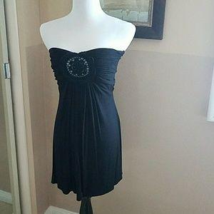 Dresses & Skirts - Sky short strapless dress/ cover up