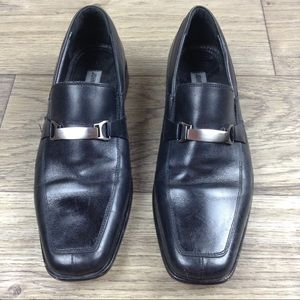 Johnston & Murphy Other - Johnston & Murphy 15-0771 Black Leather Loafers