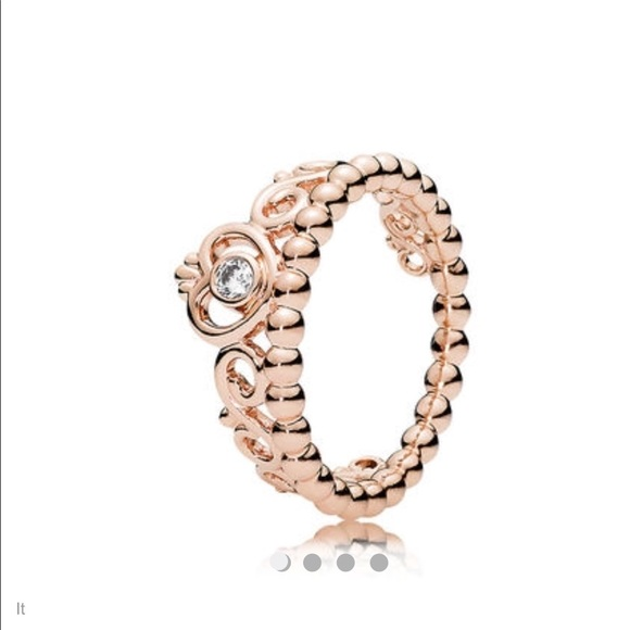 1a4408c2974 Rose Gold Pandora Crown Charm