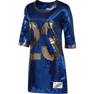 Jeremy Scott x Adidas Dresses & Skirts - Adidas Jeremy Scott Jersey Sequin Dress