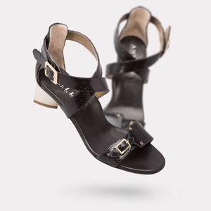 Anyi Lu Shoes - Black strappy sandal. Anyi lu. New with box