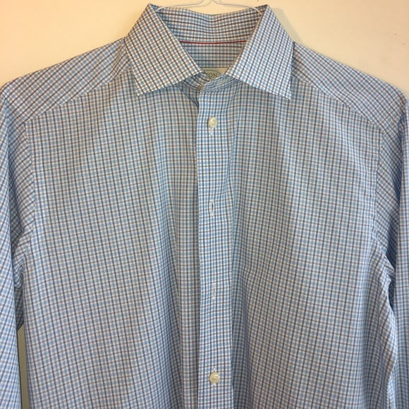 75 off eton other eton button down dress shirt size for Size 15 dress shirt