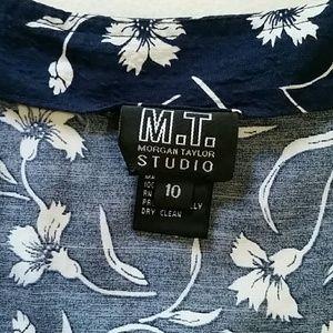 morgan Taylor Studio Skirts - Cute wrap skirt