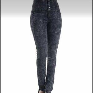 American Bazi Denim - (NWOT) American Bazi High-Waisted Button up Jeans