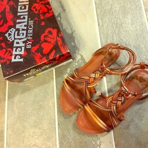 Fergalicious Shoes - Braided Sandals