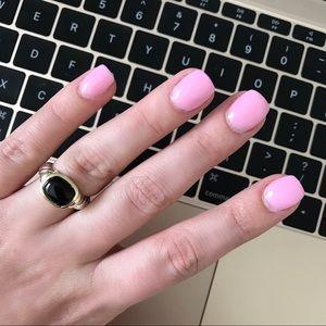 David Yurman Jewelry - Black Onyx Small Noblesse Ring